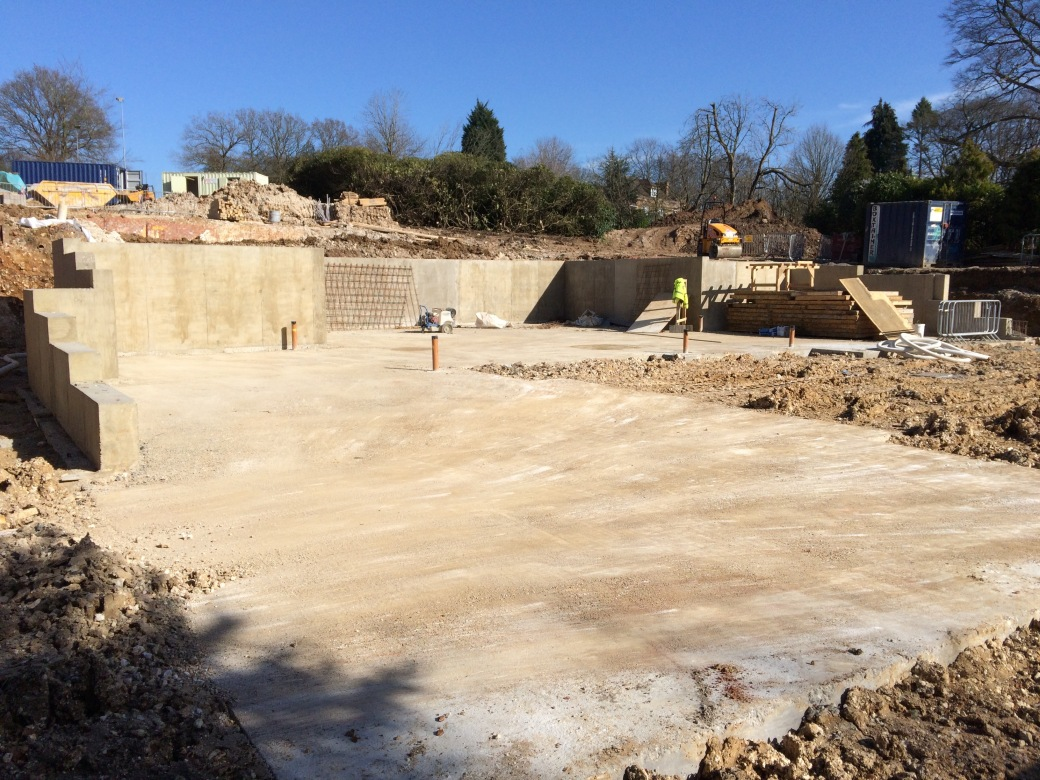 House Foundations Completed